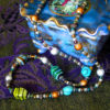 Boho beads necklace