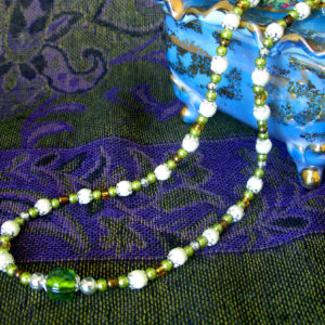 Terra Firma Green necklace