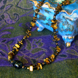 Eye of the Tiger necklace