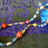 Boho Red & Yellow necklace