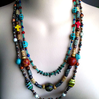 Boho Trio necklaces